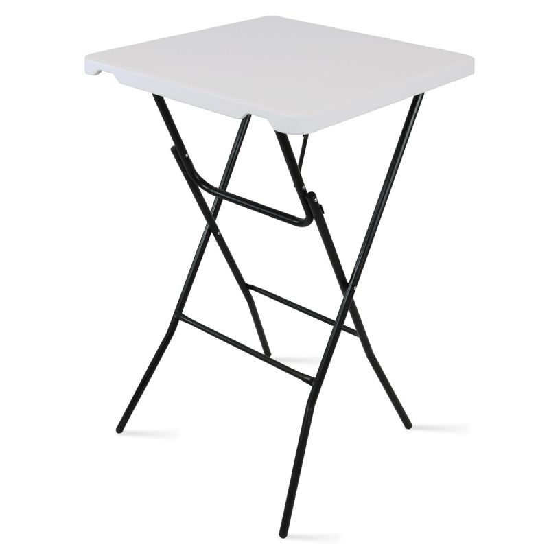 Table de bar pliante mange debout