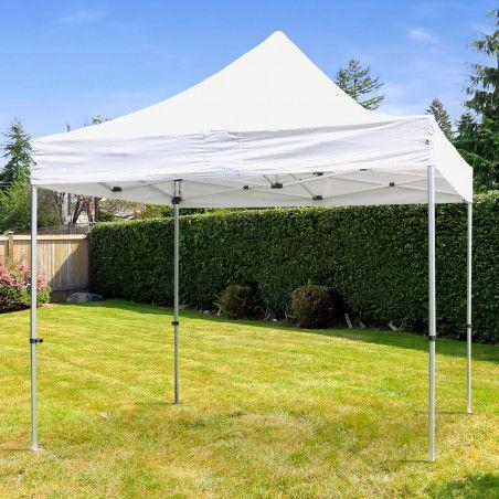 Tente pliante blanche 3x3m 180g/m² 30MM
