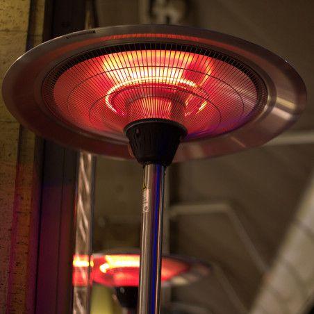 Parasol chauffant électrique
