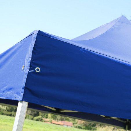 Tente pliante 3x3m 300g/m² 40MM Bleue