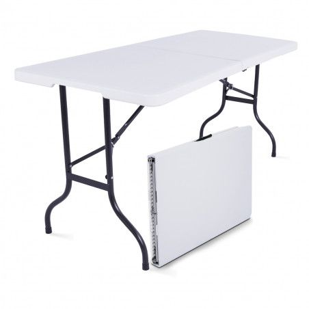 Table pliante 180cm 8 places PEHD