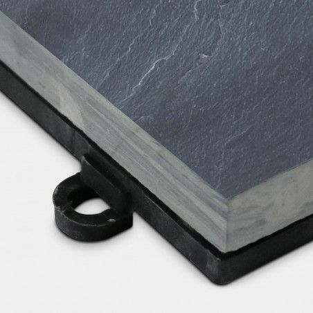 Dalle de terrasse pierre noire