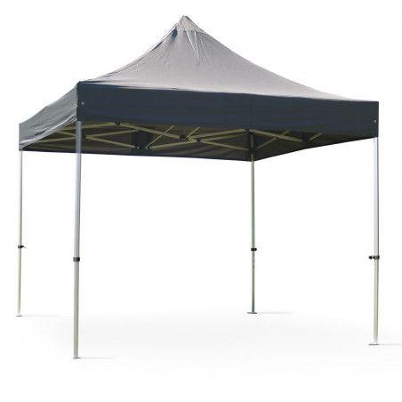 Tente pliante M2 3X3M grise 50MM 480G/M²