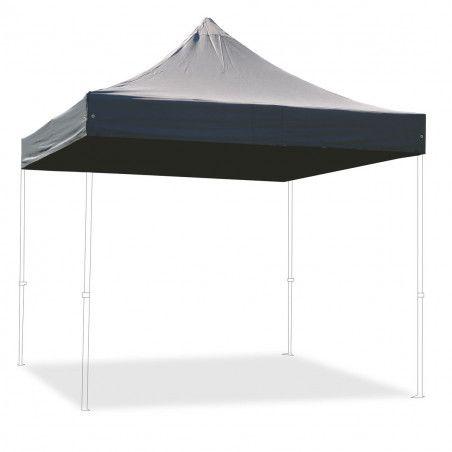 Toit gris pour tente pliante 3x3m M2 PRO 50 480g/m²