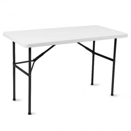 Table pliante 121x61cm en PEHD