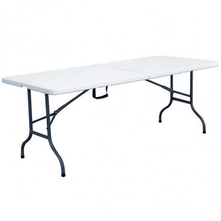 Tables pliantes 244 cm - Lot de 10