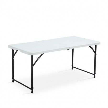 Table et chaises pliantes  4 places 122cm PEHD