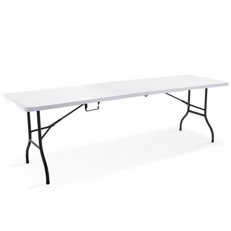 Table et chaises pliantes 10 places 244cm PEHD