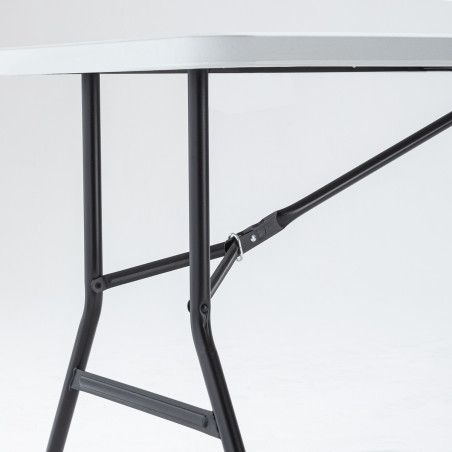 Table pliante 183cm 8 places Monobloc