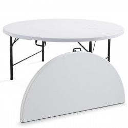 Table pliante ronde 10 places 180cm PEHD