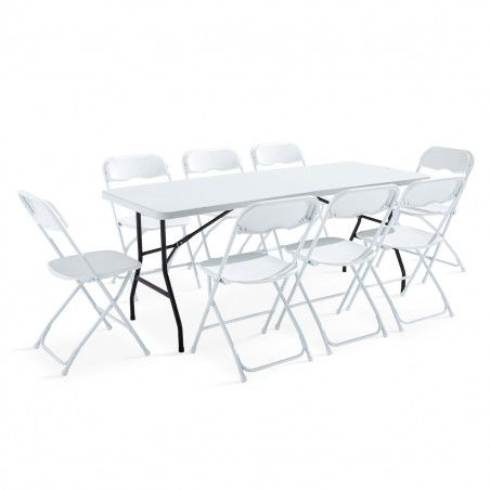 Table pliante Monobloc 183cm 8 places