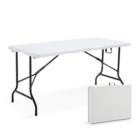 Table pliante 152cm 6 places PEHD