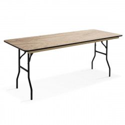 Table pliante en bois 200cm 10 places