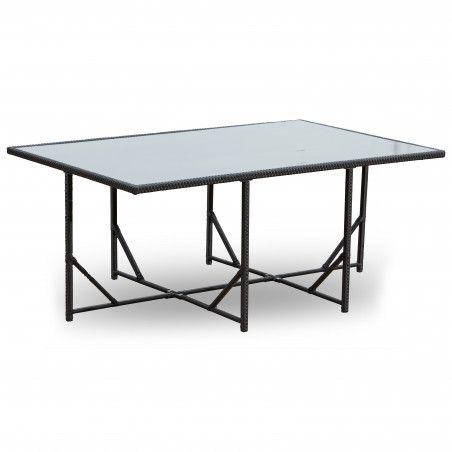 Table de jardin 10 places en résine