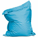 Housse vide Bleu azur pour coussin extérieur XXL (180x 145cm)