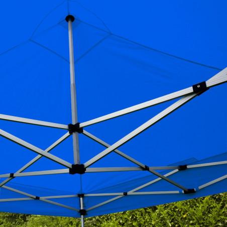 Toit pout tente pliante 3x3m 300g/m² 40MM Bleu
