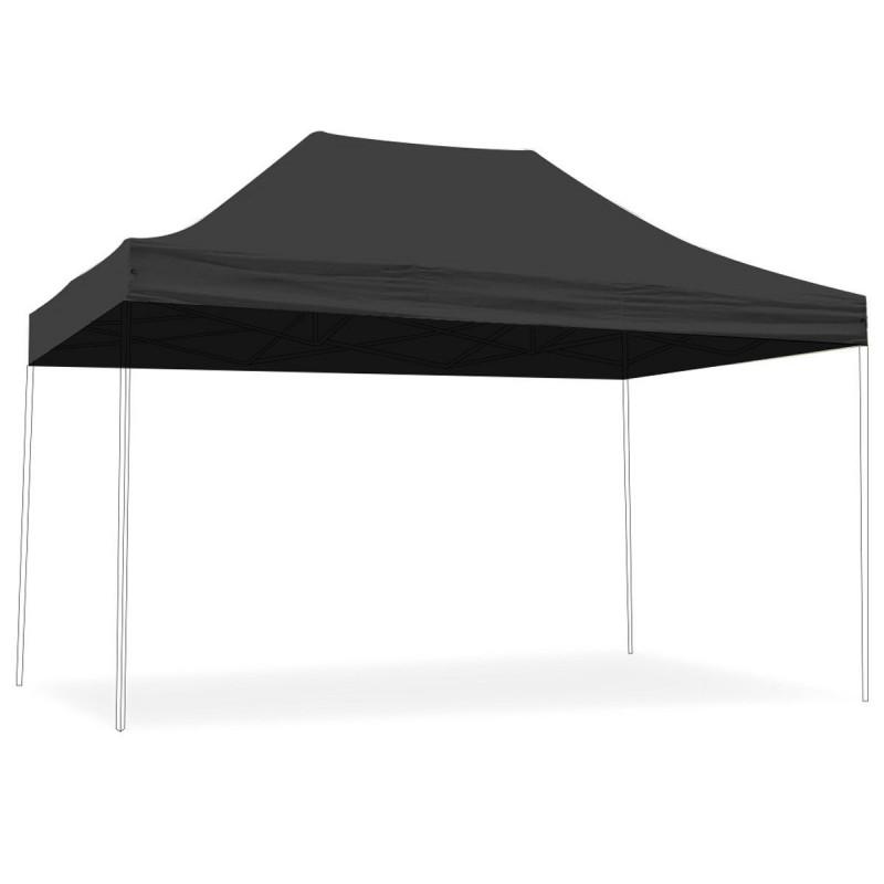 Toit pour tente pliante 3x4,5m 300g/m² 40MM Grise