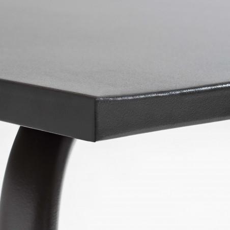 Focus table en métal palavas GRISE