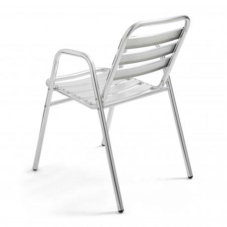 Chaise avec accoudoirs café restaurant