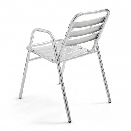 Chaise alu CHR empilable