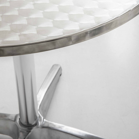 Focus table ronde alu bistro restaurant