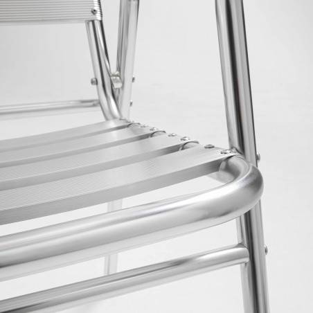 Focus chaise de terrasse en aluminium
