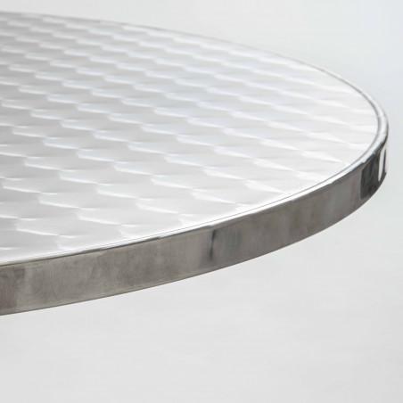 Focus plateau table ronde bistro aluminium