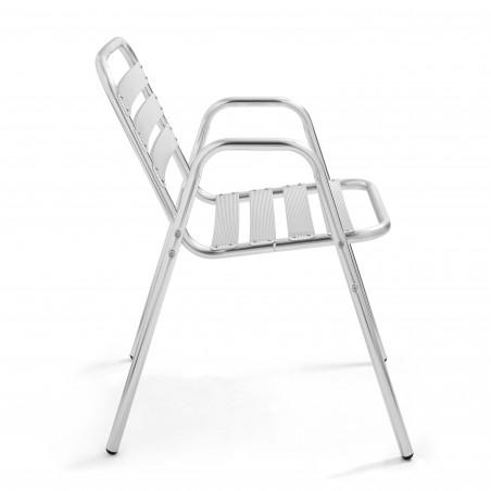 Chaise avec accoudoirs bistro CHR
