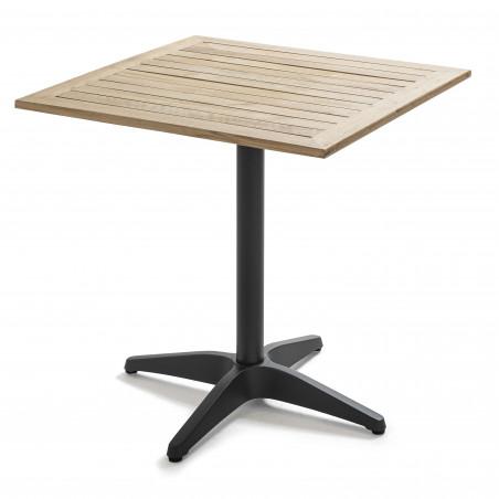Table carrée bois bistro CHR