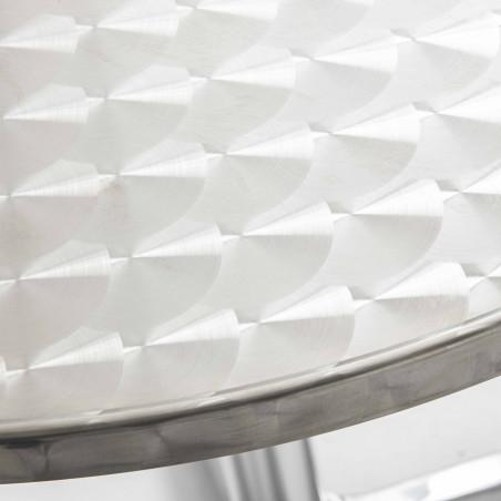 Focus plateau table ronde aluminium CHR