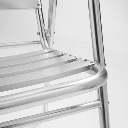 Focus chaise aluminium terrasse brasserie restaurant