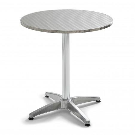 Table ronde aluminium 4 places Covent Garden