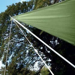 Mât de voile d'ombrage 2,85m