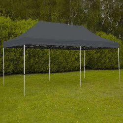 Tente pliante 3x6m 300g/m² 40MM Grise