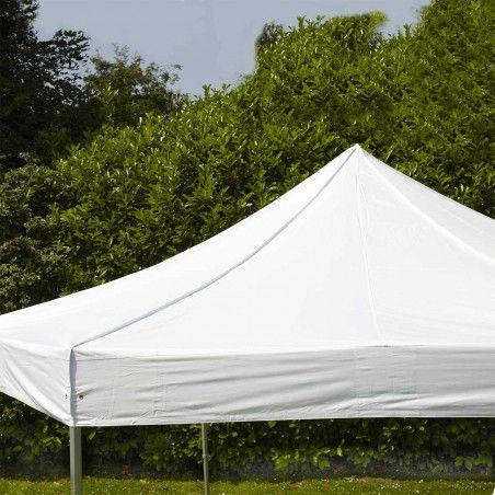 Toit de tente pliante Hexagonale blanche | Mobeventpro
