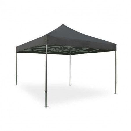 Tente pliante PRO 40MM 4x4m 300g/m² Gris