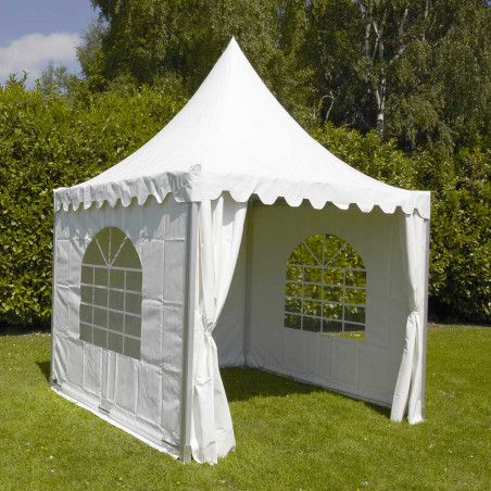 Tente pagode 3x3m 850g/m² 65MM