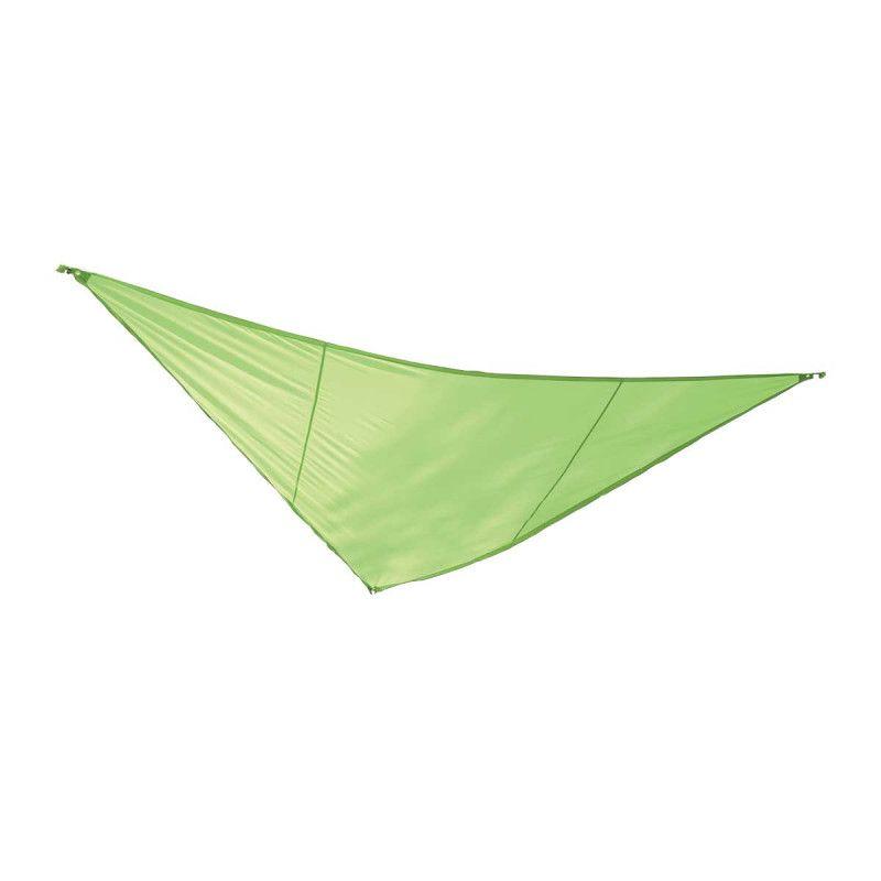 Voile d'ombrage triangulaire 3,6m vert + corde de 10m