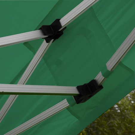 Tente pliante PRO 40MM 3x3m 300g/m² Vert
