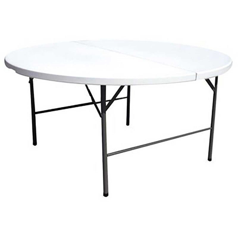 Tables pliantes rondes pas cher mobeventpro - Table de reception pliante pas cher ...