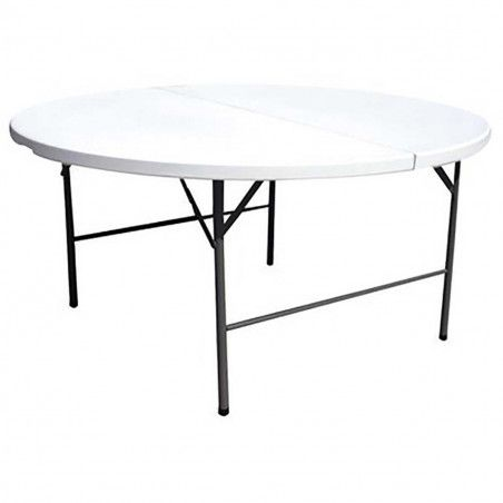 Tables rondes pliantes 180cm - Lot de 10
