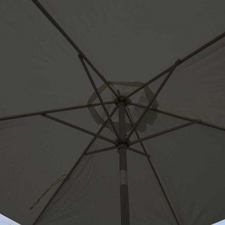 Parasol droit inclinable 3 m