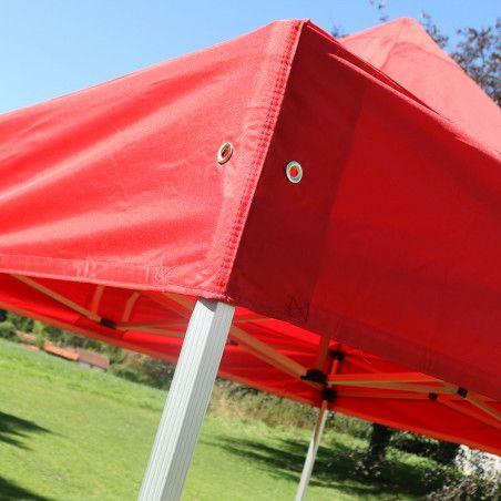 Tente pliante 3x3m 300g/m² 40MM Rouge