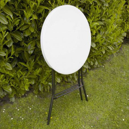 Table haute pliante 110x80 cm