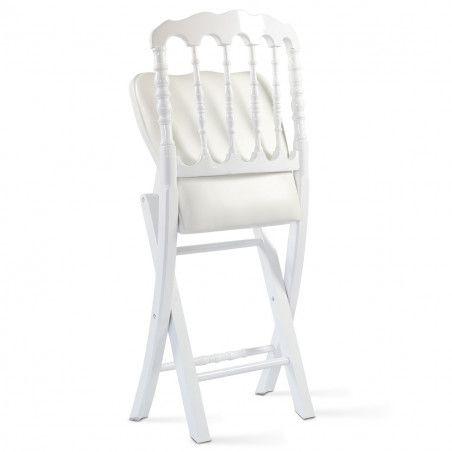 Lot de 2 chaises pliantes NAPOLEON III