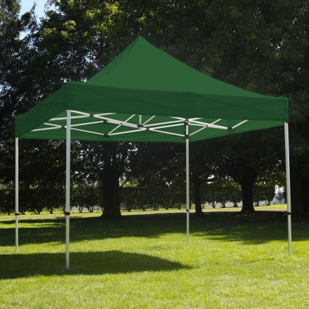 Tente pliante 3x3m 300g/m² 40MM Verte