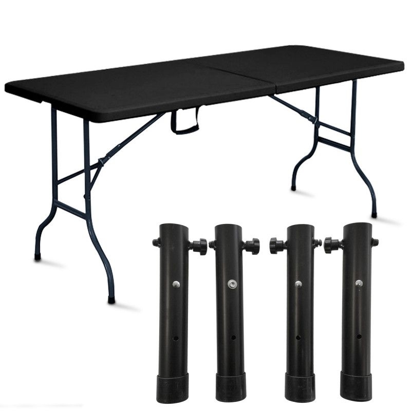 Table de buffet pliante pas cher - Table camping valise ...