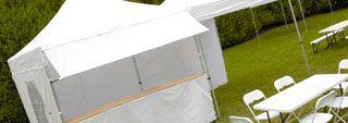 Tente pour collectivités