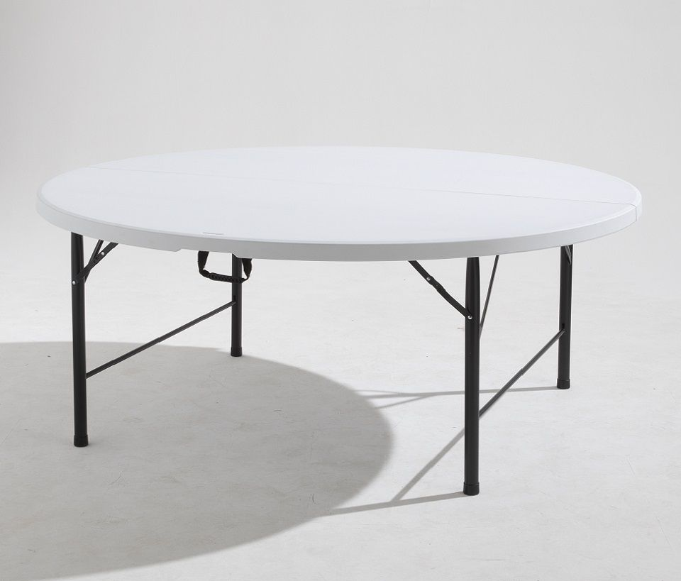 table pliante ronde Mobeventpro 10 personnes