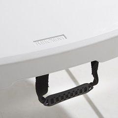 Table pliante valise avec poignée de transport